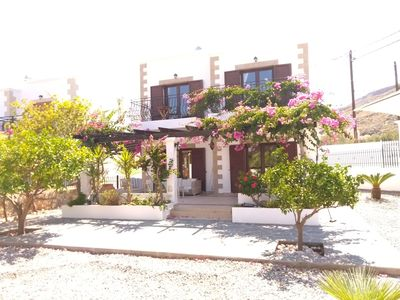 Photo for Detached Villa with Acropolis and Sea Views. 10 minutes walk to Lindos Square.