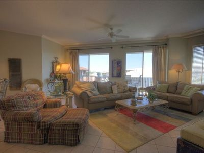 NOW OPEN FOR RENTAL!! Newly renovated atrium and common areas. Beach front