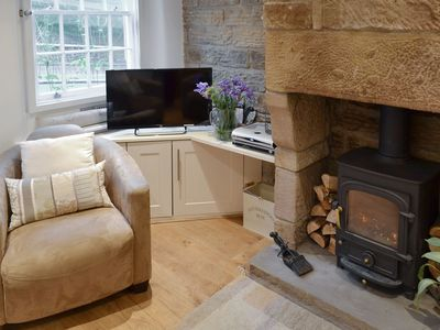 Photo for Beautiful  Grade II listed luxury 2 bedroom cottage in Bakewell
