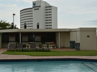 Photo for A fantastic modern and spacious apartment right on Umhlanga main Beach .