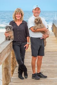Meet the owners Alicia, Jerry, Molly &Milo.  Of course pets are welcome!