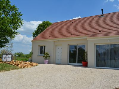 Photo for House of 80m² + SPA + Sauna in a quiet location 15 km from Beaune / Chalon sur Saône