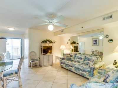 Photo for Oceanfront Condo in Crescent Beach, indoor pool, hot tub, sun deck