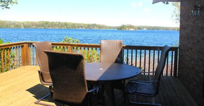 Photo for 300 feet of direct Long Lake frontage with game room, kayaks and many extras!