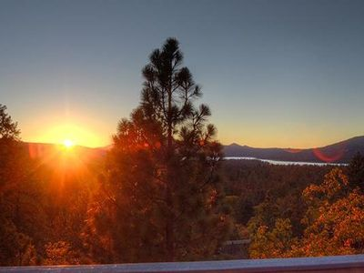Photo for Lake and Slope View Retreat with Hot Tub!  Ideal for Families and Friends!