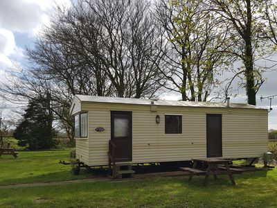 Photo for Caravan 2 Peaceful Getaway nr Tenby, Quiet & exclusive-only 6 homes on site