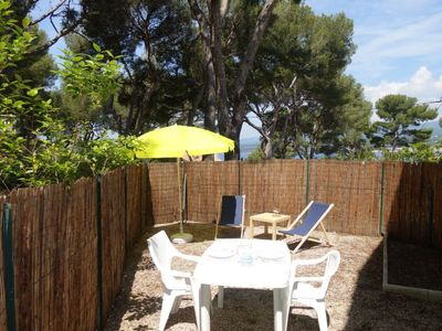 Photo for Apartment 1.4 km from the center of Saint-Cyr-sur-Mer with Parking, Internet, Garden (103457)