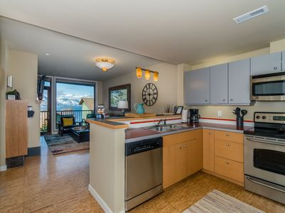 Photo for Chelan Resort Suites 303 - 1 bed,1 bath  View Condo steps to the Lake Chelan