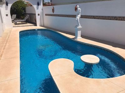 Photo for Beautifully renovated villa with stunning views and private pool
