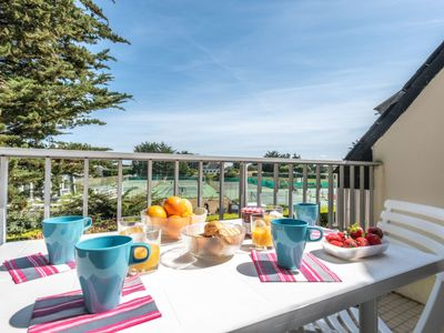 Photo for Apartment Rose des Vents in Quiberon - 4 persons, 1 bedrooms