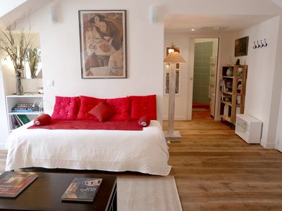 Photo for Rare & charming 2 BR for 5 in upmost Saint Germain location