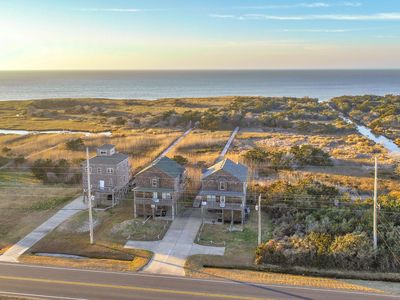 Photo for Pamlico Paradise - Fresh 5 Bedroom Oceanside Home in Waves