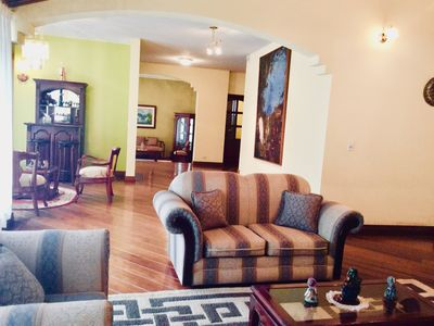 Photo for STUNNING HUGE HOUSE in Quito $100/day for 10 guests *FAST WiFi *NETFLIX *LUXURY