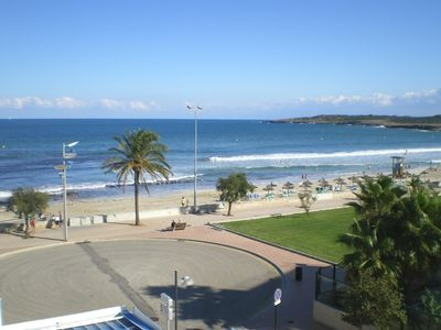 Photo for SA MANEGA 5-O: Top modern apartment in 1-A beach location with stunning views