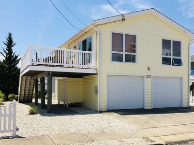 Photo for Oceanside Family House - 10 houses to the beach!  Cleaned Weekly  w/ Central Air