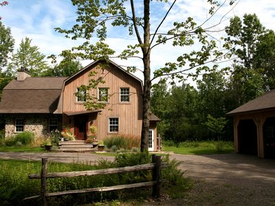 Photo for NAHÉMA'S Urban Country Home on 5 acres of pure nature and privacy!