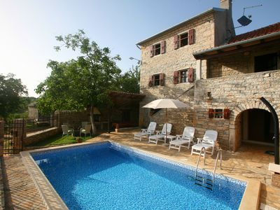 Photo for Istrian villa with swimming pool for an unforgettable holiday