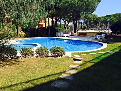 Photo for Study on the Costa Brava with pool and a few meters from the beach