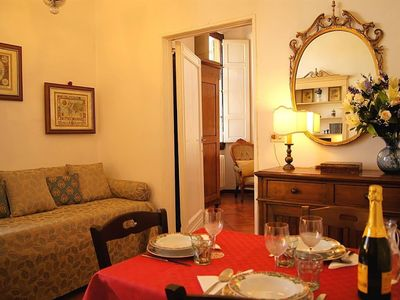 Photo for Apartment in the center of Florence with Internet, Air conditioning, Lift, Washing machine (357835)