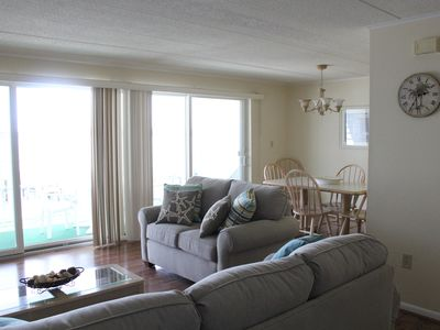 Photo for Bayfront Condo overlooking water!  Across the street from the Beach!!
