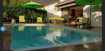 Photo for Villa with pool near Paris and Disneyland.