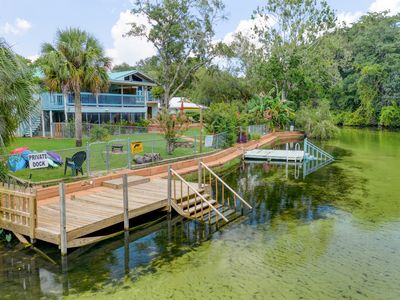 Photo for FALL SPECIAL 20% off! Manatee Cove! 2 Bdrm Suite on the Main Weeki Wachee River