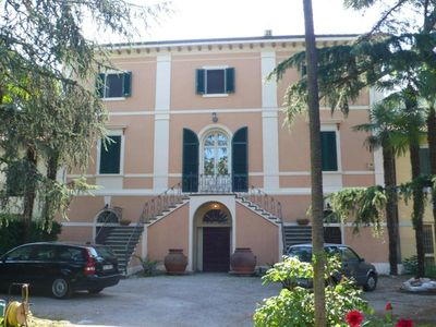 Photo for Old villa with park, halfway between Pisa and Lucca, near the beaches