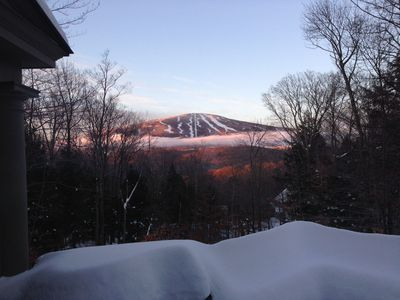 Photo for Beautiful Stratton Ski Home with Mtn View and Hot Tub!