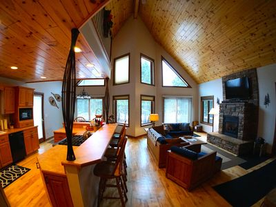 Photo for Exceptional Chalet near Harbor, Nubs Nob and Boyne Highlands Ski and Golf Resort