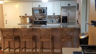 Photo for 2 bdrm 1 1/2 bath, Beach Front Resort. Gated community with 24hr security.