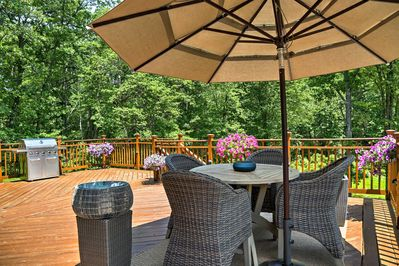 Natural beauty awaits when you stay at this Warwick vacation rental house!