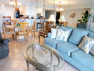 Photo for Newly Remodeled 2 Bedroom Beach Front Condo...New Spring Pricing