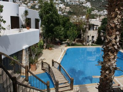 Photo for **Spacious flat in secret gardens with stunning pool and private terrace**