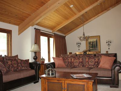 Photo for Luxurious 3 BR Condo in Deer Valley, Private Hot Tub