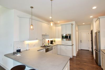 Large open kitchen perfect for cooking all of your families favorite meals.