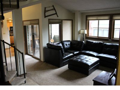 Photo for Cozy - GREAT FOR FAMILIES! Steps from Main Street & Gondola