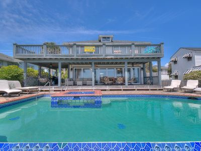 Osprey Nest, Luxury Oceanfront Home in Myrtle Beach with Great Views and Beautiful Pool Area