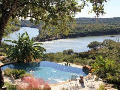 Photo for Lake Travis Waterfront with Resort Style Pool