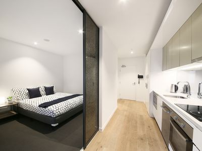 Photo for Contemporary CBD Suite with CITY VIEWS + FREE WiFi