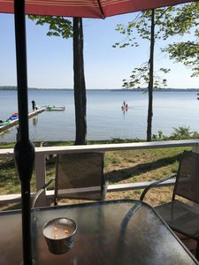 Photo for (New!) Relaxing cottage on Green Lake in Interlochen - kayaks and SUP provided!