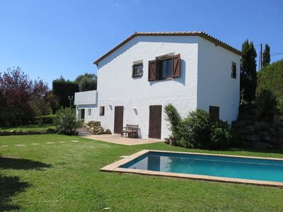 Photo for Beautiful house with pool in Calonge. Very quiet environment. Located only 15 minutes from the beach! Free WIFI.