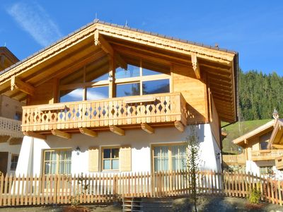 Photo for Chalet 18 am Sonnenhang - incl. Nationalpark Summercard, beautiful mountain view, sauna, sunny side