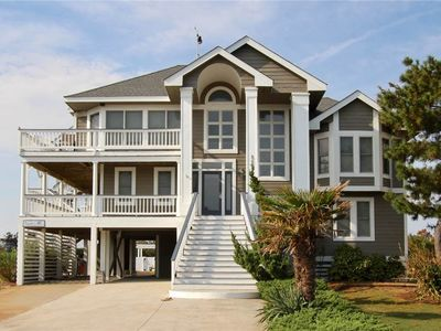 Photo for #491: OCEANSIDE Home in Corolla w/HeatedPool, HotTub & RecRm