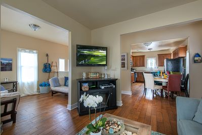 ~  - The semi-open floor plan makes it a great gathering space for family and friends.