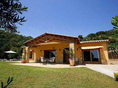 Photo for 3 bedroom Villa, sleeps 6 in Vall-Llobrega with Pool and WiFi