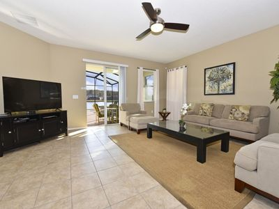 Photo for Lovely 4-Bed Pool Home at Crystal Cove Resort, Mins to Disney