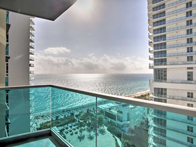 Photo for NEW! Beachfront Hollywood Condo w/Resort Amenities