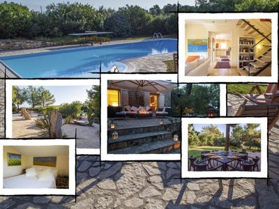 Photo for The house of capers: luxury villa with swimming pool,  Carloforte - Sardinia