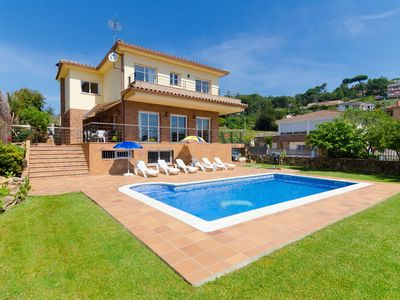 Photo for Club Villamar - Great house with private pool in a quiet place ideal for lovers of walking and cy...