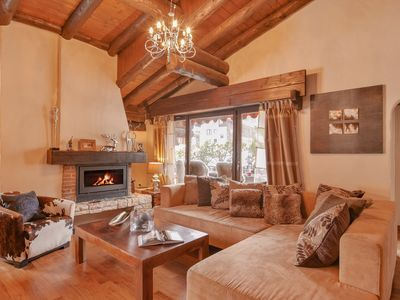 Photo for Mountain Chic - Ski Penthouse in Klosters ,Walk to restaurants and bars